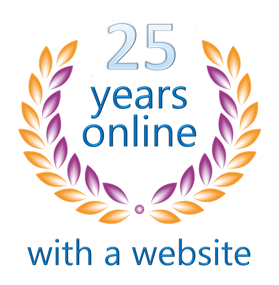 Jubilee : 20 years online with my own websites.